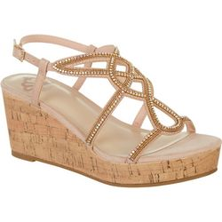Fergalicious Womens Mimic Wedge Sandal
