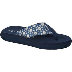 Rocket Dog Womens Eyelet Bloom Flip Flop.