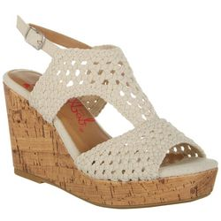 Jellypop Womens Alexia Wedge Sandals