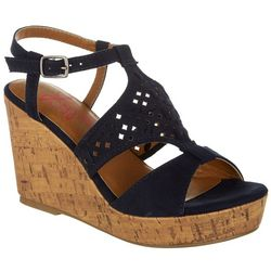 Jellypop Womens Creations Wedge Sandals