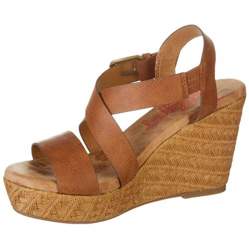 6d14bc5671ce1 Jellypop Womens Tahoe Casual Wedge Sandals