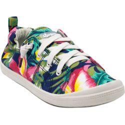 Sugar Womens Genius Tropical Print Casual Shoes