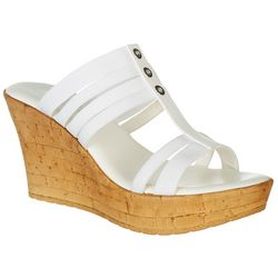 Dept 222 Womens Karlie Wedge Sandals