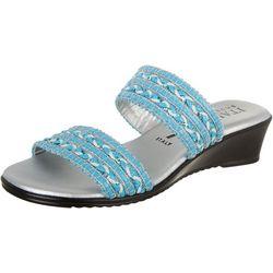 Italian Shoemakers Womens Cuddle Wedge Sandals