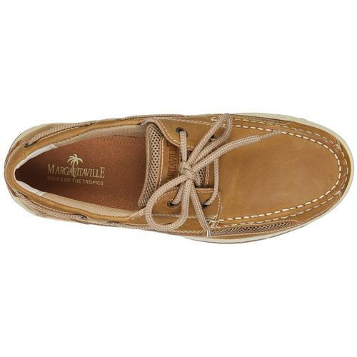 e4087c118e87 Margaritaville Mens Anchor Lace Up Boat Shoes