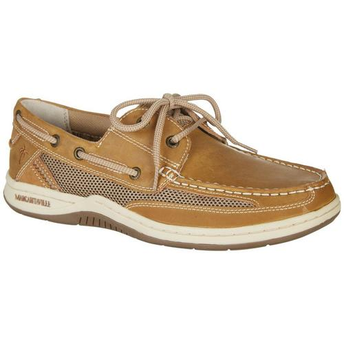 254dc9299ef6 Margaritaville Mens Anchor Lace Up Boat Shoes