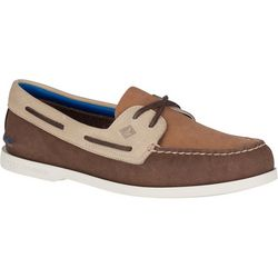 Sperry Mens A/O 2 Eye Plush Washable Boat Shoes