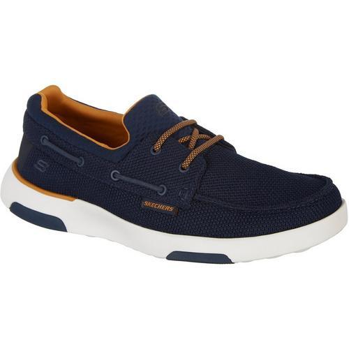 Skechers Men's Bellinger Lone Boat Shoes