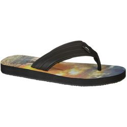 Reel Legends Mens Tide Flip Flops