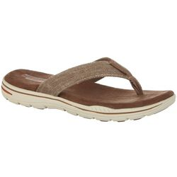Skechers Mens Evented Rosen Thong Sandals