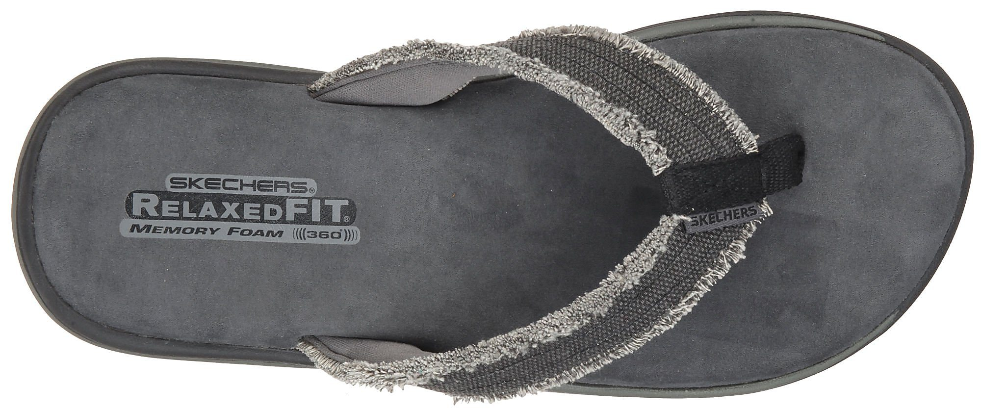 e26277a6477ac3 SKECHERS Mens Supreme Bosnia Thong Sandals 8m Nylon Black. About this  product. Picture 1 of 4  Picture 2 of 4  Picture 3 of 4 ...