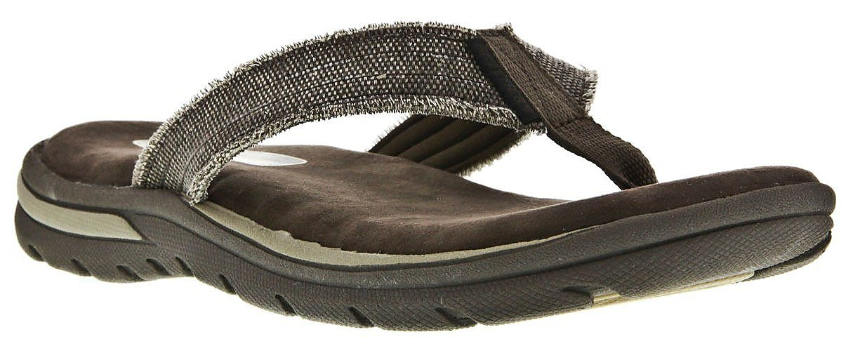 cb965f42403f Skechers Mens Supreme Bosnia Thong Sandals