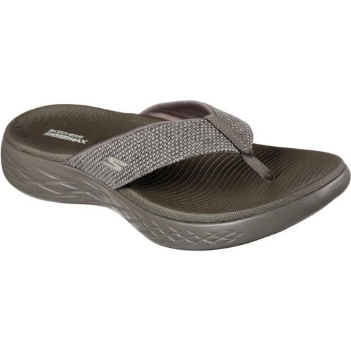 399b84aef4b9 Skechers Mens On the GO 600 Boardwalk Flip Flops