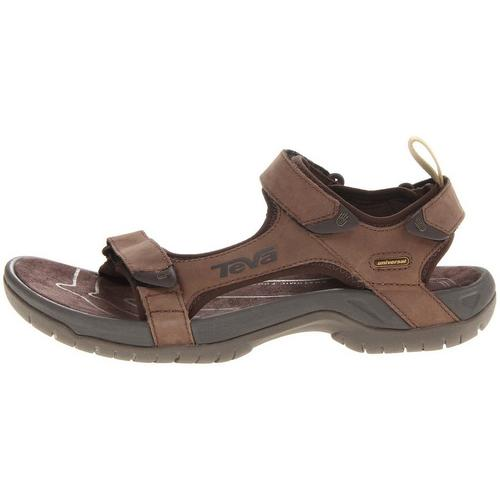 9a56a33cd Teva Mens Tanza Leather Sandals