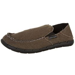 Body Glove Mens Islander Canvas Slip On Shoes