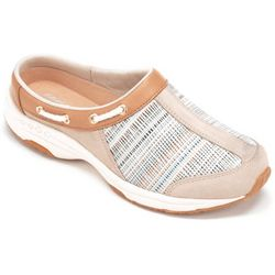 Easy Spirit Womens Travelport Grid Athletic Mules