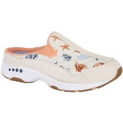 Easy Spirit Womens Traveltime 320BD Shells Athletic Mules