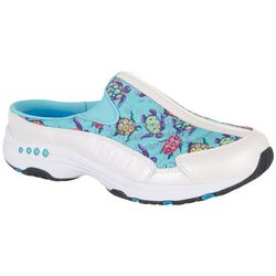 Easy Spirit Womens Traveltime Turtles 321BD Athletic Mules