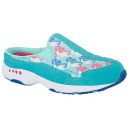 Easy Spirit Womens Seahorse Traveltime 245 Athletic Mules