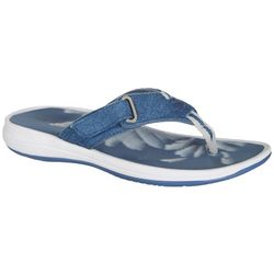 Easy Spirit Womens Drift Flip Flops