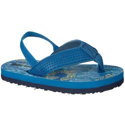 Reel Legends Toddler Boys Logan Water Flip-Flops