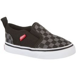 Vans Toddler Boys Asher Checkered Skate Shoes