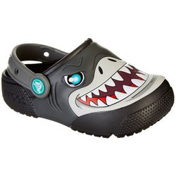 Crocs Toddler Boys Fun Lab Light Shark Clogs