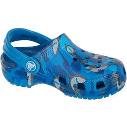 Crocs Toddler Boys Classic Shark Clog