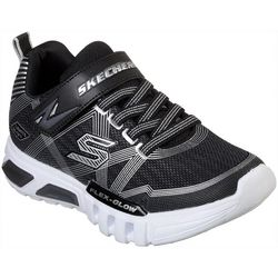 Skechers Boys Flex Glow Athletic Shoes