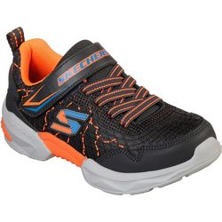 Skechers Boys Techtronix Direct Current Athletic Shoes