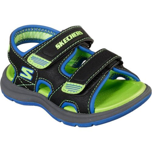 4f858900d3c3 Skechers Toddler Boys Sun Spurt Sandals