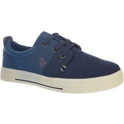 US POLO Boys Harvey Casual Sneaker