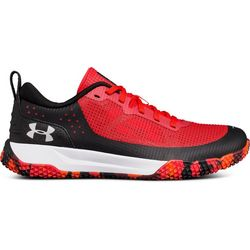 Under Armour Boys X Level Rumble Red Multi Athletic Shoes