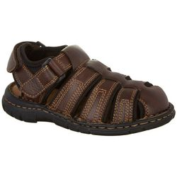 Freeman Boys Closed Toe Fisherman Sandals