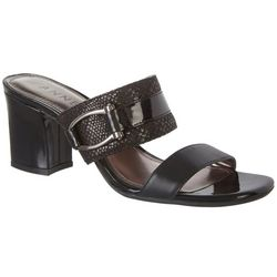 Anne Klein Womens Natalie Open Hall Dress Sandals