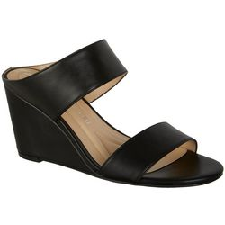 Andrew Geller Womens Barbara Wedge Sandals