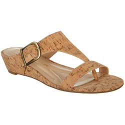 Andrew Geller Womens Iwin Sandals