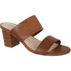 Andrew Geller Womens Resandra Dress Sandal