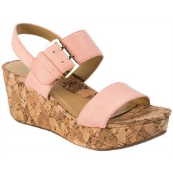 Andrew Geller Womens Jolene Wedge