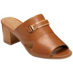 A2 by Aerosoles Womens Mid Air Slide Sandals