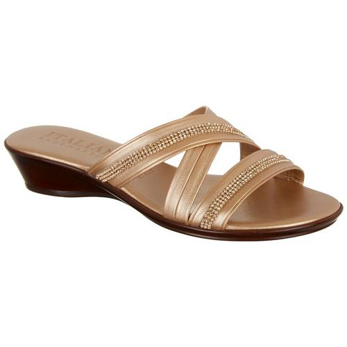 b60bb5796684 Italian Shoemakers Womens Ella Dress Sandals