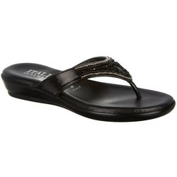 Italian Shoemakers Womens Nala Thong Sandals