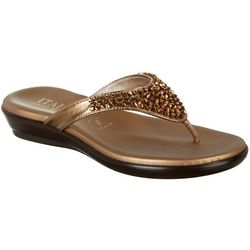 Italian Shoemakers Womens Rande Thong Sandals