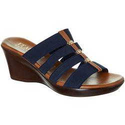 93c44b16f7ef Italian Shoemakers Womens Clover Sandals