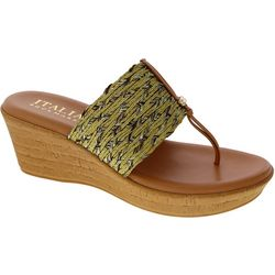 Italian Shoemakers Womens Angeles Wedge Sandals