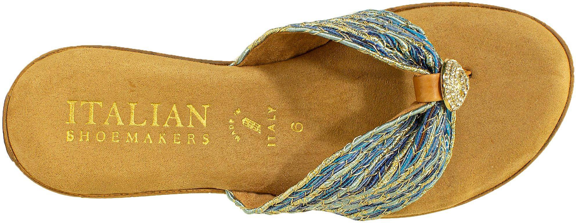 Italian Shoemakers Womens Cayman Wedge Sandals