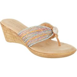 Italian Shoemakers Womens Cayman Pastel Wedges