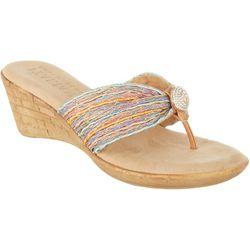 Italian Shoemakers Womens Cayman Pastel Wedges