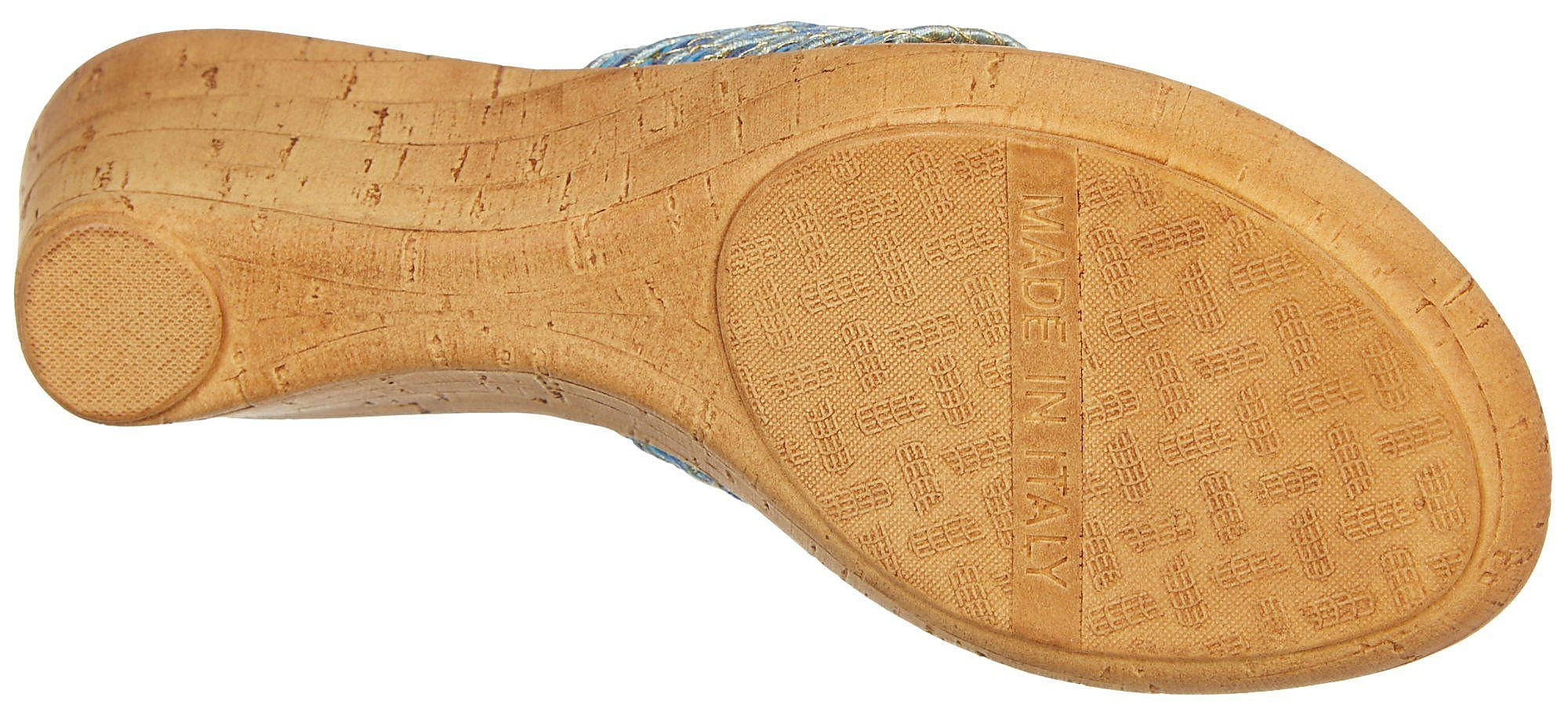 c6b7ea0c8169 Italian Shoemakers Womens Cayman Wedge Sandals
