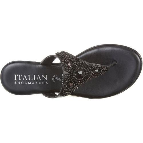 e71e3e41d583 Italian Shoemakers Womens Mystify Jeweled Sandals
